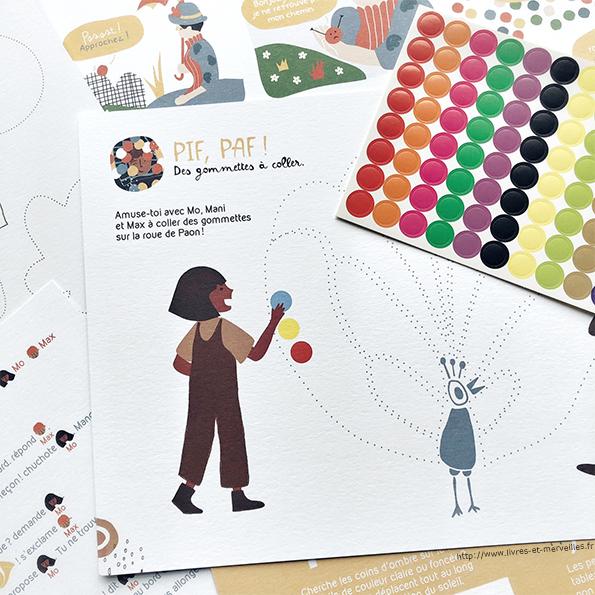 Paon et les petits curieux : Une belle pochette illustrée pour parler d'art avec les enfants