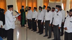 Ahmad Yani,S.Pdi Mutasi Kepala Madrasah dan Kepala KUA Di Lingkungan Kementerian Agama Kabupaten Pidie Jaya