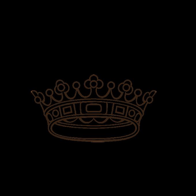 Imperial crown, imperial crown, hand painted crown png free png