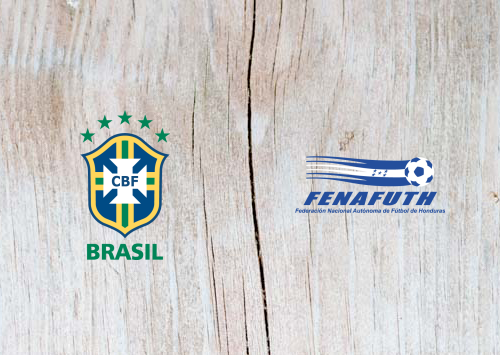 Brazil vs Honduras Full Match & Highlights 9 June 2019