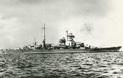 Blücher típusú német csatahajó