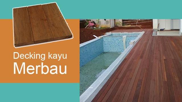 harga lantai kayu merbau untuk outdoor