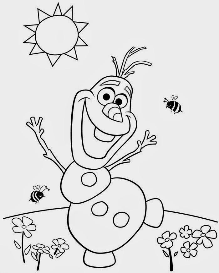 Desenhos De Frozen Uma Aventura Congelante Para Colorir Pintar