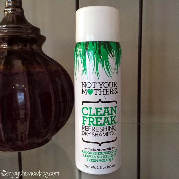 can of Not Your Mother's Clean Freak Refreshing Dry Shampoo