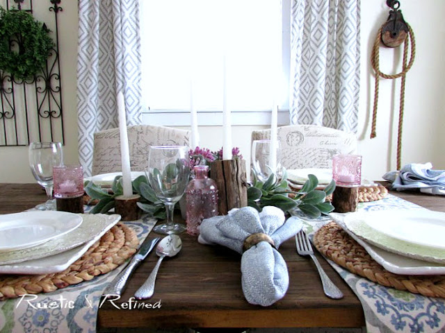 Farmhouse style with Hygge Elements in the Dining Room