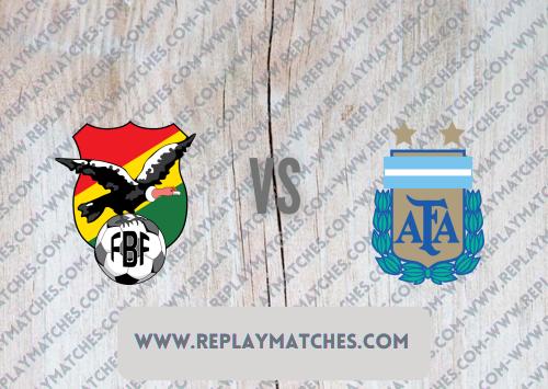 Bolivia vs Argentina -Highlights 29 June 2021
