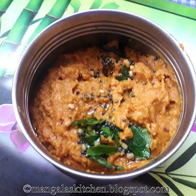 Chennai Hotel Style Tomato Chutney for Idli, Dosa, Adai