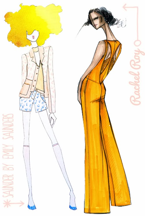 Fabulous Doodles Fashion Illustration Blog By Brooke Hagel December 2013