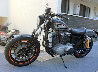 xl1200s sportster sport side left