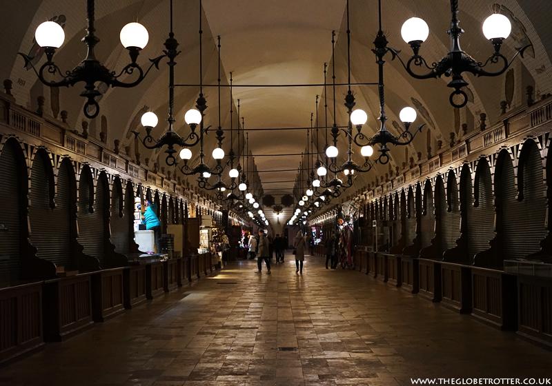 The Renaissance Cloth Hall in Krakow