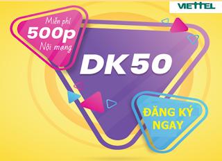 Gói DK50 Viettel