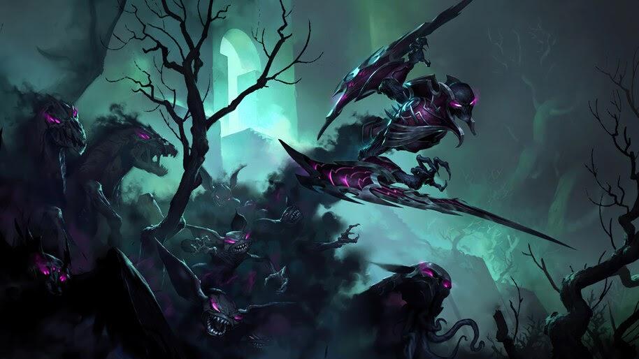 Nocturne, LoL, Shadow Isles, Legends of Runeterra, 4K, #5.2708