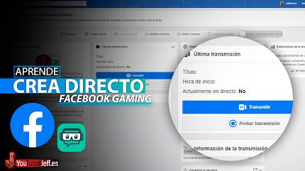 Como Hacer un Directo en Facebook Gaming con Streamlabs OBS
