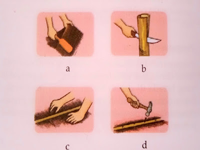 Gambar Cara Pemasangan Kakaban Untuk Pemijahan Koi
