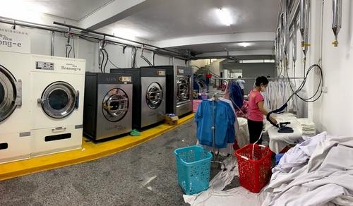 Khu nhà giặt cho bệnh viện Thu Cúc
