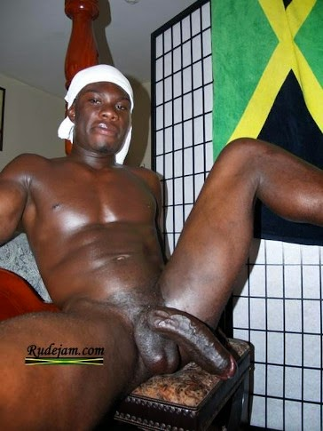 black guy naked dick