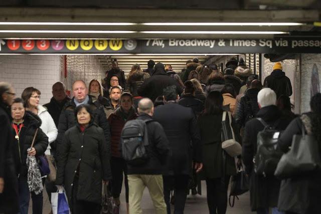 Menos pasajeros en el Subway por segundo año consecutivo