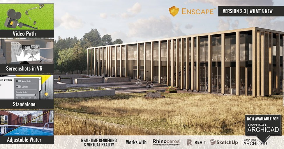 DOWNLOAD THE PLUGIN ENSCAPE 3D 2 3 2 703 FOR RHINO, REVIT AND