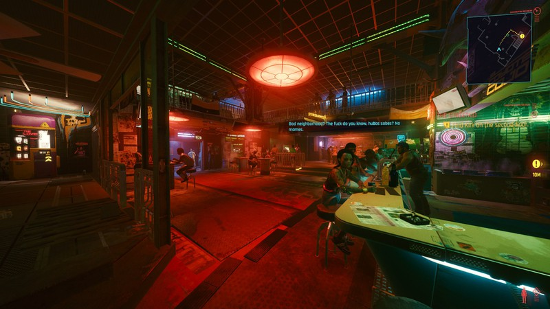 Cyberpunk 2077 Improved Field of View (FOV) Slider