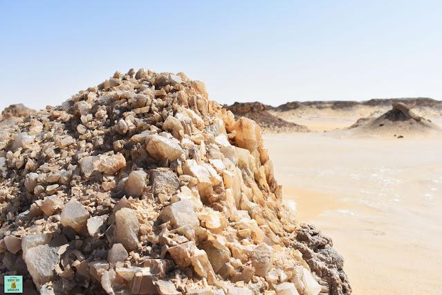 Crystal Mountain desierto Egipto