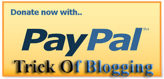 Tricks To Add Simply/Easily/ PayPal Donate Button To Blogger