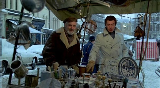 Norman Rodway and Lewis Collins in Who Dares Wins