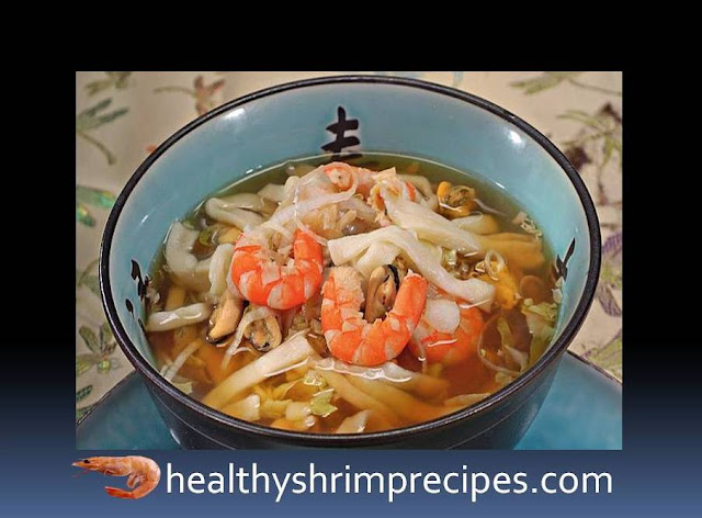 Fish and shrimp soup recipe