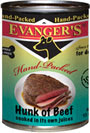 Picture of Evangers Hand Packed Hunk of Beef Canned Dog Food