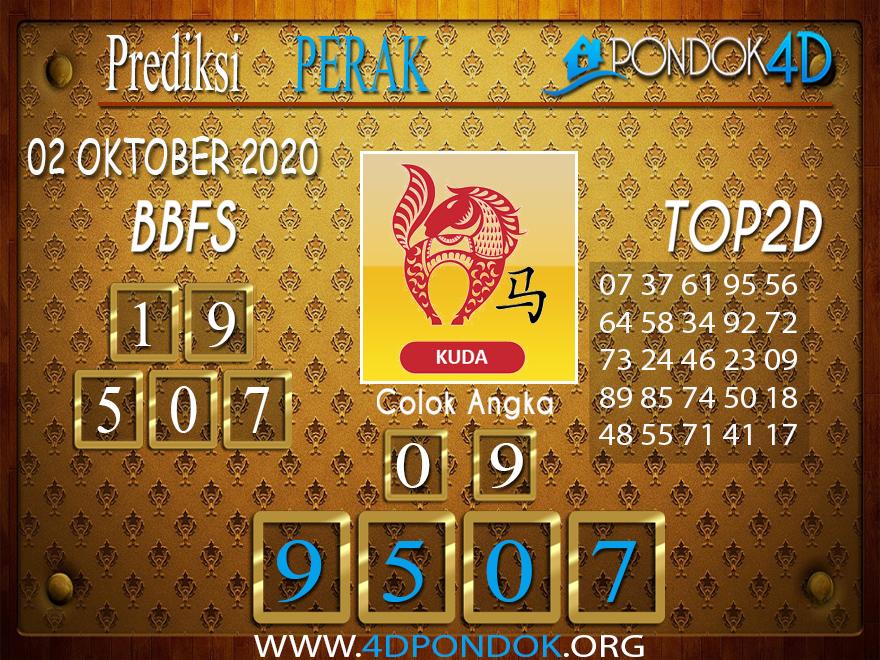 Prediksi Togel PERAK PONDOK4D 02 OKTOBER 2020
