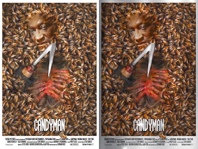 Candyman Screen Print by Richard Hilliard x Mad Duck Posters