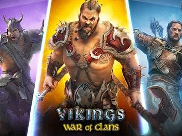 war of clans, vikings game