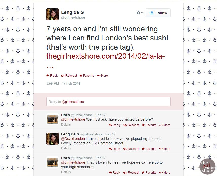 Dozo Sushi: where we played bento tic-tac-toe