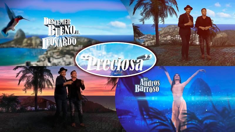 Descemer Bueno & Leonardo - ¨Preciosa¨- Lyrics Video - Dirección: Andros Barroso. Portal del Vídeo Clip Cubano