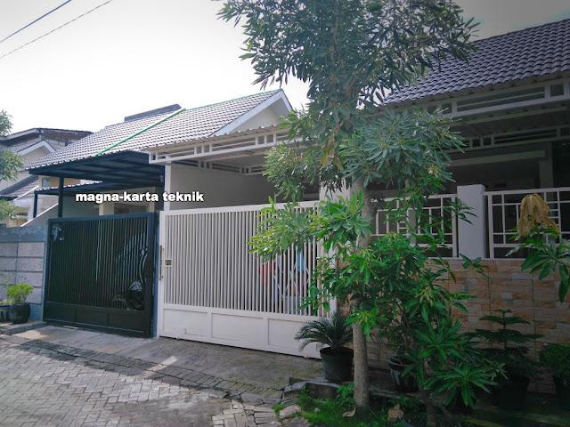 Jasa pembuatan pagar minimalis Sidoarjo Surabaya murah