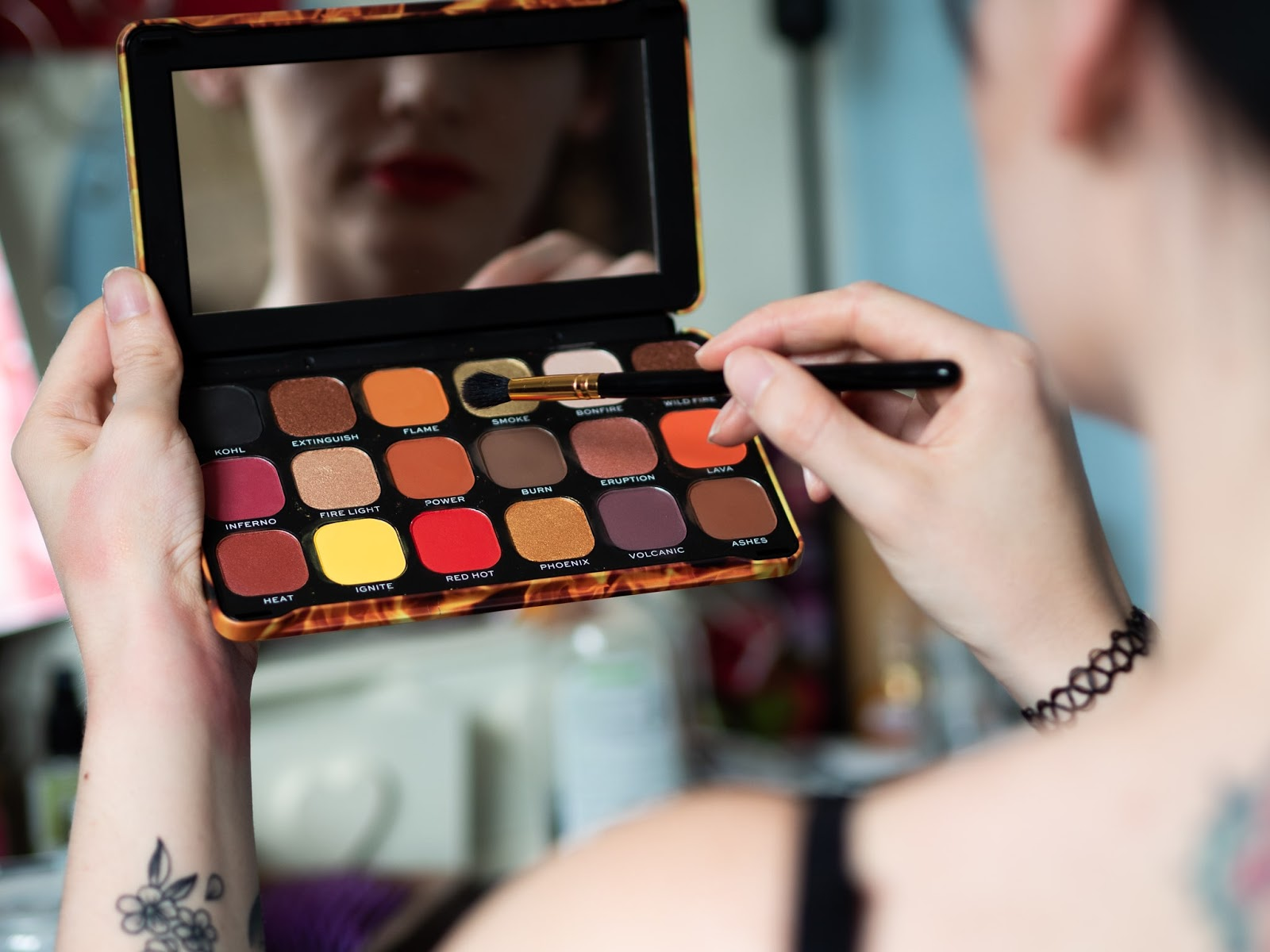 "Revolutions Forever Flawless ""Fire"" palette"