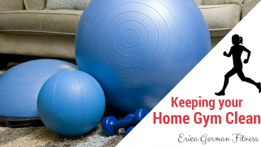 Keeping your Home Gym Clean {and your home smelling fresh}