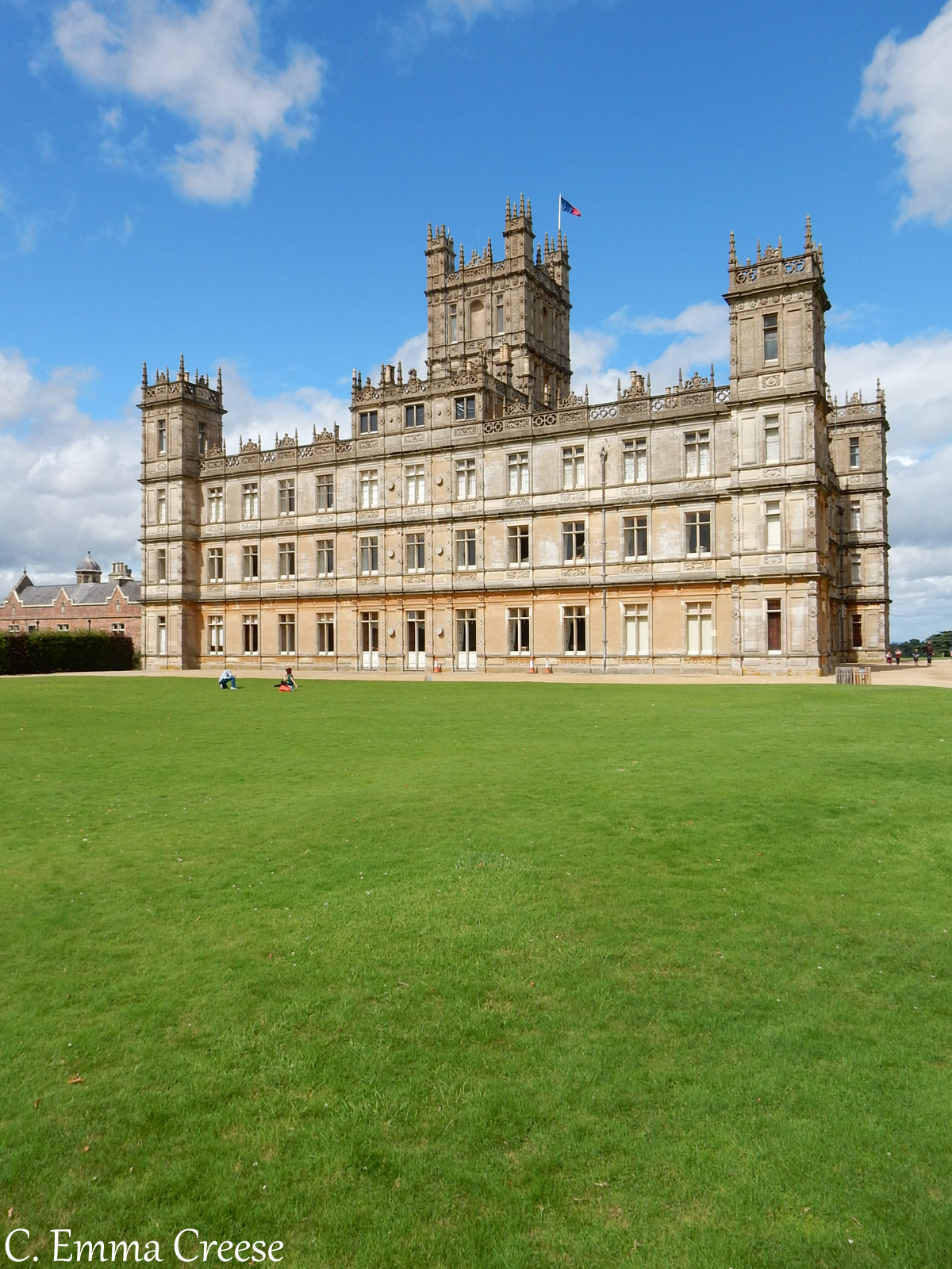 Visiting Downton Abbey (aka Highclere Castle) - an ...