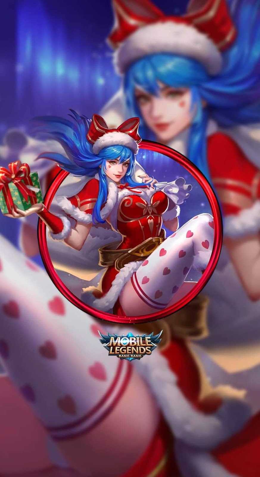 Wallpaper Eudora Christmas Carnival Skins Mobile Legends HD for Mobile