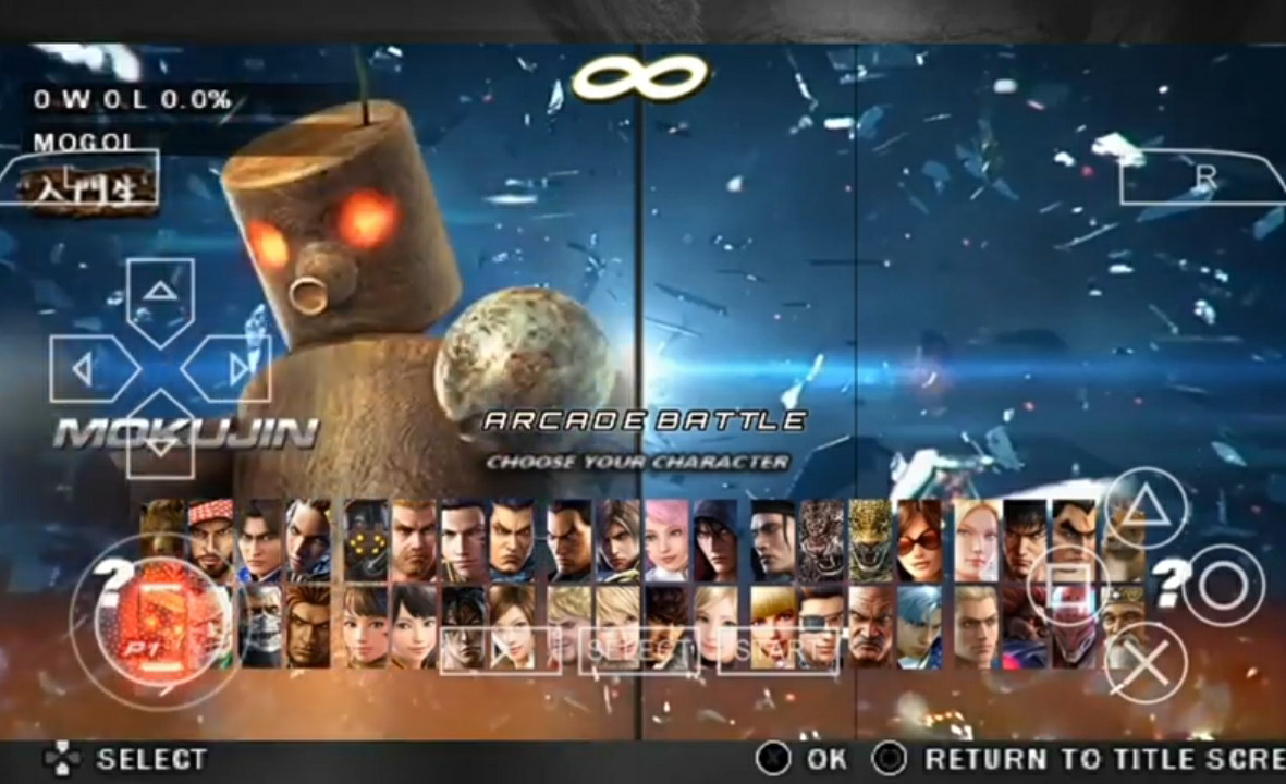 Download TEKKEN 7 ISO/CSO PPSSPP For Android Terbaru