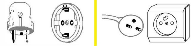 Comparativa endolls F (esquerra) versus E (dreta)