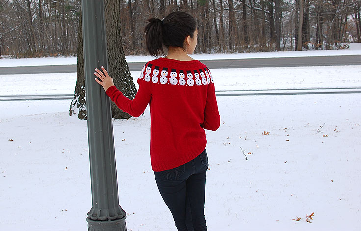 This Gal Knows - Hand Knit Christmas Sweater