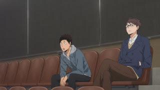 ハイキュー!! アニメ 3期9話 及川徹 岩泉一   Karasuno vs Shiratorizawa   HAIKYU!! Season3