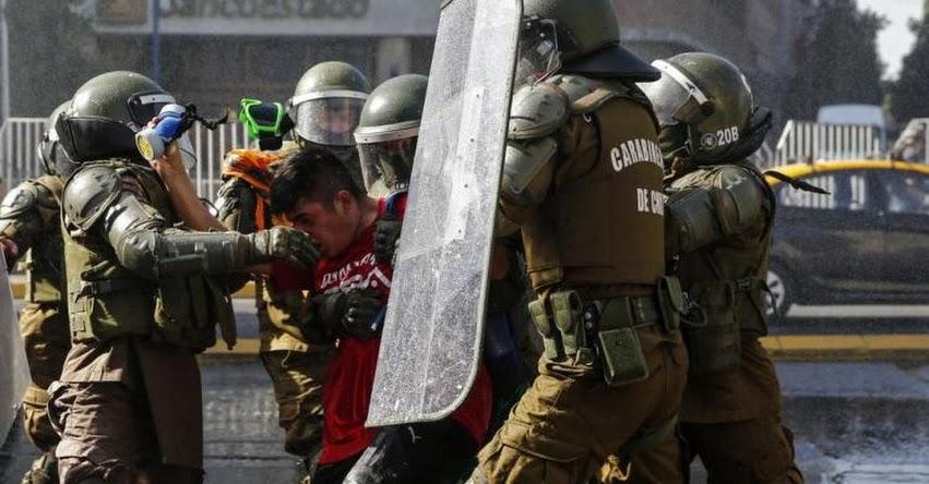 CHILE: Cientos de manifestantes piden la renuncia de Sebastián Piñera [VIDEO]