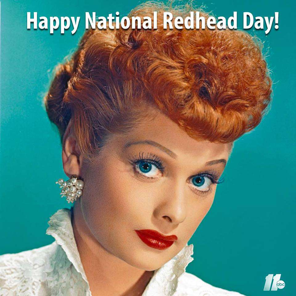 National Redhead Day Wishes Sweet Images