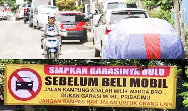 Punya Mobil Tapi Tak Punya Garasi Bakal Didenda 2 Juta, Setuju?