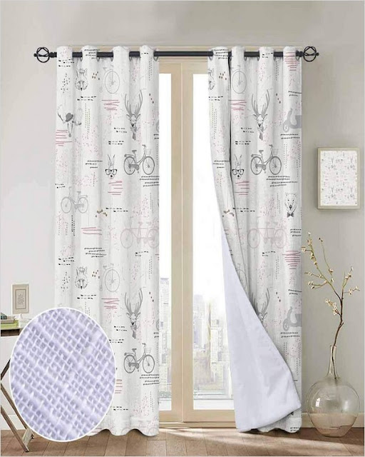 modern farmhouse curtains blackout for living room