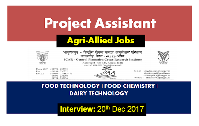 Project Assistant | Food Technology | Food Chemistry | Dairy