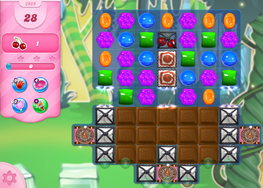 Candy Crush Saga level 2959