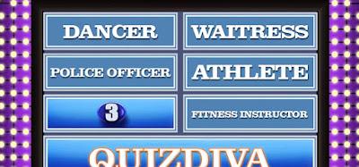 QuizDiva Feud Quiz Answers 100% Score