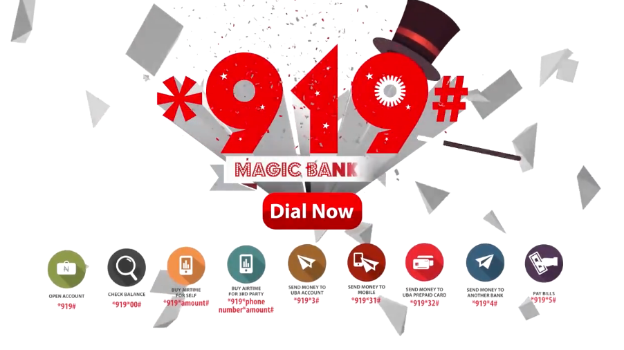 UBA 919 Magic Bank